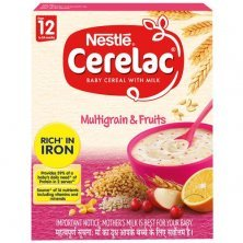 Nestle Cerelac Baby Cereal with Milk - Multigrain & Fruits, From 12-24 Months, Rich in Iron