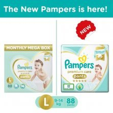 Pampers Premium Care Large Monthly Box Pack - 88 Diaper Pants