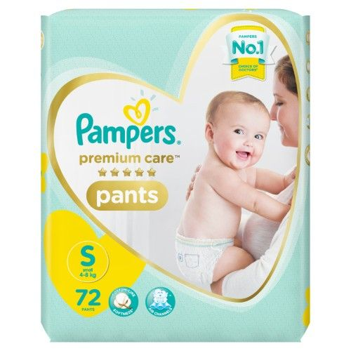 Pampers Premium Care New Baby Small - 70 Pant Diapers