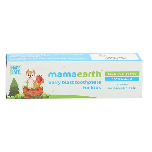 Mamaearth Berry Blast Toothpaste For Kids