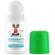Mamaearth Natural Breathe Easy Vapour Roll-On For Cold & Nasal Congestion, With Wintergreen & Eucalyptus Oil.