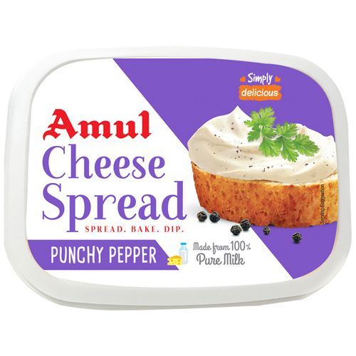Amul Cheese Spread - Punchy Pepper