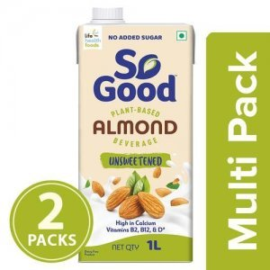 So Good Almond Milk - Natural, Unsweetened