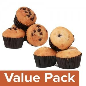 Signature Muffin/Cup Cake Blueberry 200 g + Choco Chip 200 g (Pack of 4 each)