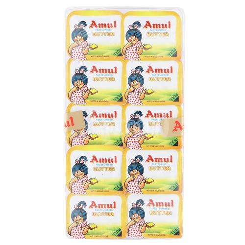 Amul Butter - Pasteurised (School Pack)