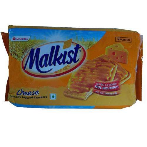 Malkist Cheese Crunchy Layered Crackers