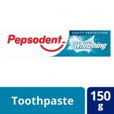 Pepsodent Toothpaste - Whitening, Cavity Protection, 150 G