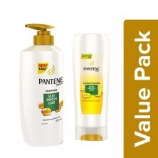 Pantene Shampoo Smooth & Silky 675ml + Conditioner Silky Smooth Care 175ml