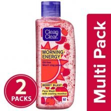 Clean & Clear Morning Energy Face Wash - Berry Blast