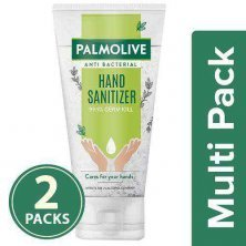 Palmolive Antibacterial Hand Sanitiser - 72% Alcohol Based, Non Sticky