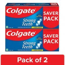 Colgate Strong Teeth Anticavity Toothpaste With Amino Shakti - Saver Pack