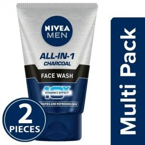 Nivea Men All-In-1 Face Wash - Charcoal