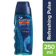 Fiama Shower Gel - Refreshing Pulse For Men With Sea Minerals