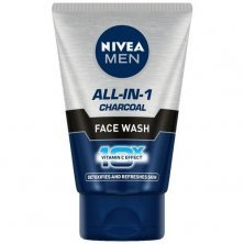 Nivea Men All In 1 Charcoal Face Wash - Detoxify & Refresh Skin With 10x Vitamin C Effect, For All Skin Types
