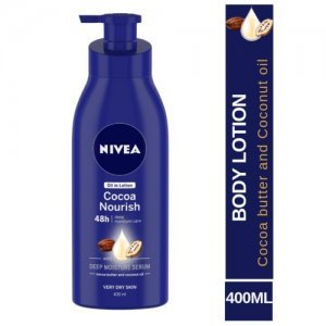 Nivea Cocoa Nourish Body Lotion For Very Dry Skin - With Coconut Oil & Cocoa Butter, For Men & Women