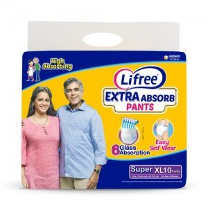 Lifree Extra Absorb Adult Pant Style Diapers - XL