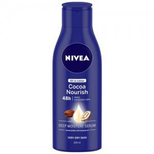 Nivea Body Lotion For Very Dry Skin - Cocoa Nourish, With Coconut Oil & Cocoa Butter, For Men & Women