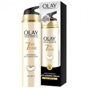Olay Total Effects 7-In-1 -Lightweight Anti- Ageing Moisturizer Cream SPF 15