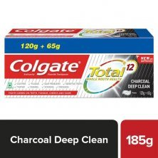 Colgate Total Charcoal Anticavity Toothpaste