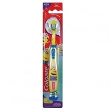 Colgate Kids 5+ years Minion Toothbrush - Extra Soft With Tongue Cleaner