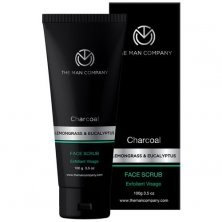 The Man Company Charcoal Face Scrub For Exfoliation, Anti-acne & Pimples, Blackhead Removal