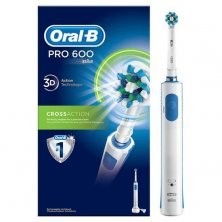Oral-B Pro 600 Cross Action Electric Rechargeable Toothbrush - Multicolour