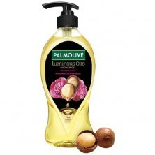 Palmolive Body Wash Luminous Oils Invigorating Shower Gel With 100% Natural Macadamia Oil & Peony Extracts