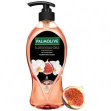 Palmolive Body Wash Luminous Oils Rejuvenating Shower Gel With 100% Natural Fig Oil & White Orchid Extracts