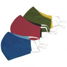 Fairkraft Creations Washable Face Mask - 3 Layer Protection, Reversible
