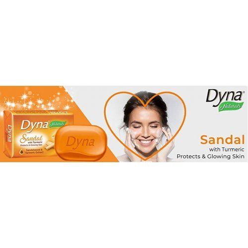 Dyna Naturals Sandal with Turmeric Soap