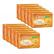 Dyna Naturals Sandal with Turmeric Soap, 100gm Pack of 5