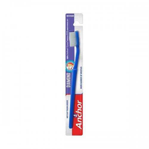 Anchor Diamond Toothbrush with Tongue Cleaner