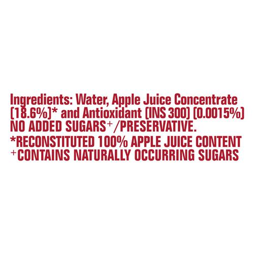 Real Activ Apple - with No Added Sugar