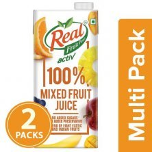 Real Activ Mixed Fruit - with No Added Sugar