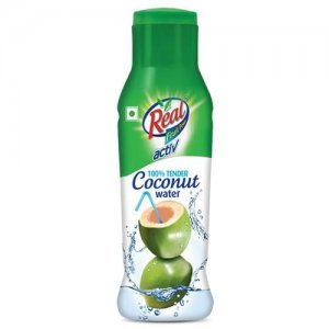 Real Activ 100 % Tender Coconut Water - with No Added Sugar