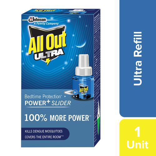 All Out Ultra Mosquito Repellant Refill - Bedtime Protection