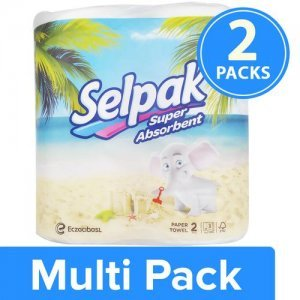 Selpak Kitchen Towel Paper Tissue Roll Pack of 2