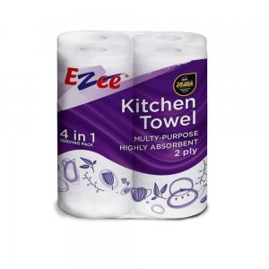 Home Toilet Roll - 3 Ply, Pack of 4