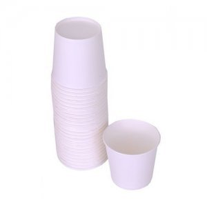 Origami Plain Paper Party Cups