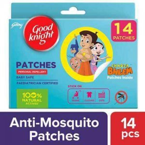 Good knight 100% Natural Mosquito Repellent Patches