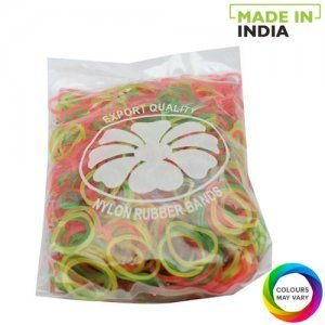 Oasis Rubber Bands - Nylon, Assorted Colour, 2 inches