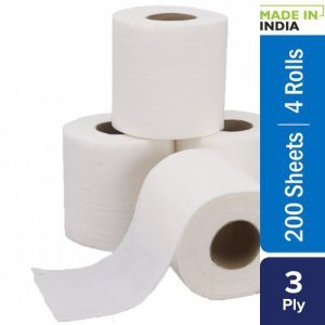 Home Toilet Roll - 3 Ply -100% virgin Pulp/Paper
