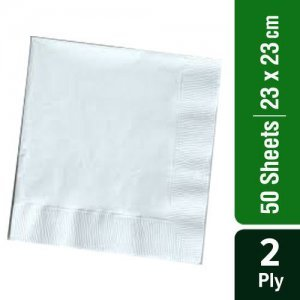 Home Cocktail Napkin - 2 Ply -100% Virgin Pulp/Paper