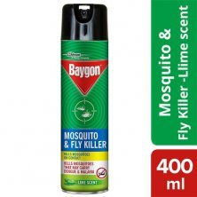Baygon Mosquito & Fly Killer Spray - Lime Fragrance