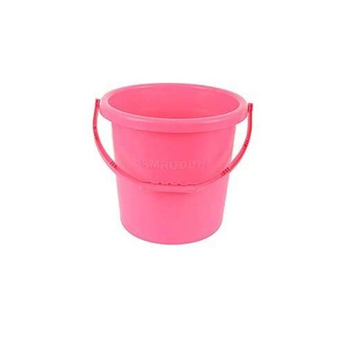 Home Frosty Plastic Bucket - Pink