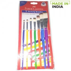Faber castell Synthetic Paint Brush - Flat