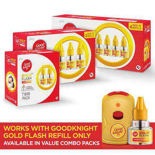 Good knight Gold Flash - Mosquito Repellent Refill