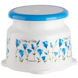 Polyset Regal Plastic Stool - Small Printed, Assorted Colour