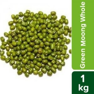 Popular Green Moong Daal - Whole, Pesticide Free, Rich in Vitamins