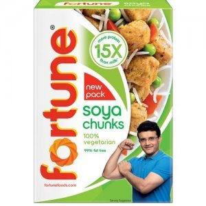 Fortune Soya Chunks - 15x More Protein Than Milk
